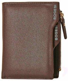 bogesi brown leather wallet