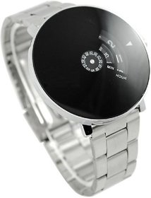 Silver Metal Men's Watch
