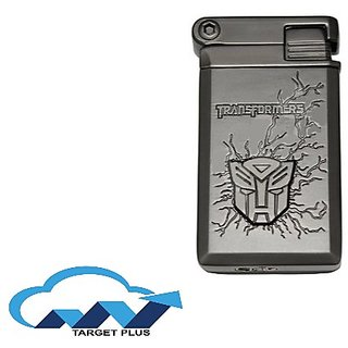 GREY TRANSFORMERS Designer Butane Jet Flame Metal Cigarette Lighter