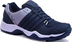 Clymb Men's Navy Blue Running Shoes