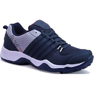 Clymb Men's Navy Blue Running Shoes