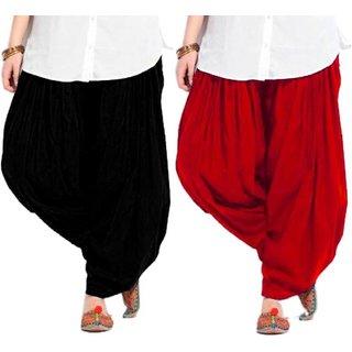 Suhai Lycra Dhoti Pants For Women Patiyala Dhoti Lycra Salwar Free Size
