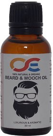 OSE Natural & Organic Beard & Mooch Oil 30mL