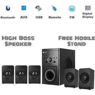 Flow Buzz 5.1 Channels USB Home Theater System /Satellite Speakers