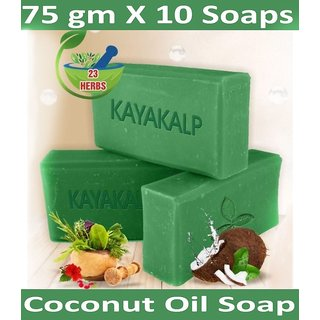 Kayakalp Daily Care Handmade Bath Soap (Pack Contains 10 Soaps)