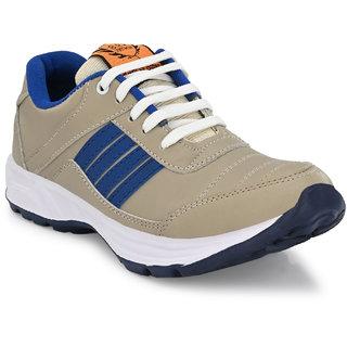 BRK Brands Inc. Men's Cream Running Shoes