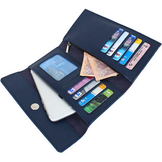 dide Imported Women Designer Wallet Black/Brown/Blue/Pink/Grey/Tan Ladies Clutch