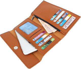 Dyme Imported Women Designer Wallet Black/Brown/Blue/Pink/Grey/Tan Ladies Clutch