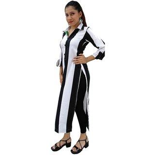 Beautiful Long kurti in stripes
