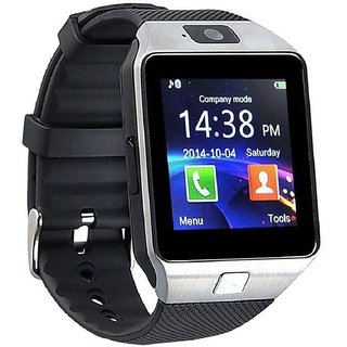 Bingo T30 Square Dial Black Strap Touchscreen Smartwatch With Voice Calling For Android & IOS