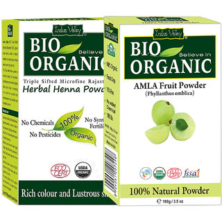 Amla Powder For Premature Graying Hair  Herbal Henna Powder Combo Pack Of 2