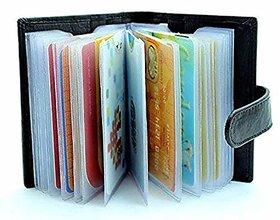 Excellent Pure Credit, ATM Leatherite Card Holder Black or Brown
