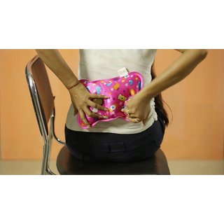 Warm Bag Electric Heating Gel Pad Rechargeable Portable Hot Water Bag ( Assorted Colors )