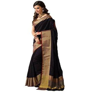 Art Silk Self Design Saree With Blouse - Multicolor (5.5 Meter)