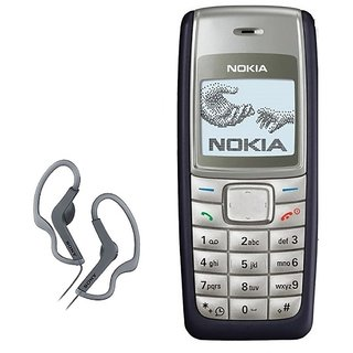 Nokia 1110 / Good Condition/ Certified Pre Owned (1 Year Warranty) With Sony Earphone