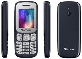 Mymax M32 (Dual Sim, 1.8 Inch Display, Wireless FM, 1000 Mah Battery)