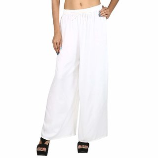 Daily wear ruf and tyff palazzo pant ,trousers for women