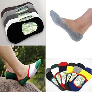 Aanand Newage pair of 5 Unisex Cotton Loafer Socks