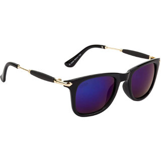 Aligatorr Stylish Blue Mercury UV Protection Full Rim Sporty Look Sunglasses