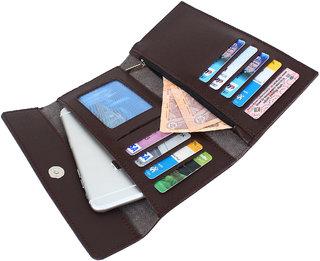 Dyme Imported Women Designer Wallet Black/ Brown/ Blue/ Pink/ Grey/Tan Ladies Clutch