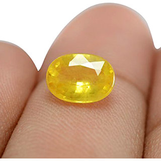 7 Ratti Yellow Sapphire (Pukhraj)