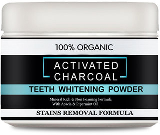 Charcoal Activated Teeth Whitening Powder