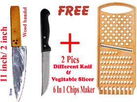 Kitchen Tools (3 Pics combo)(Hand Made Item by Lohar)