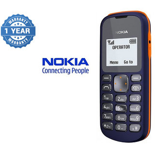 Nokia 103 / Good Condition/ Certified Pre Owned (1 year Warranty Bazaar Warranty)