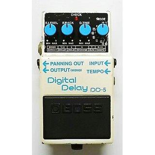 Boss DD-5 Delay Guitar Effect Used Pedal