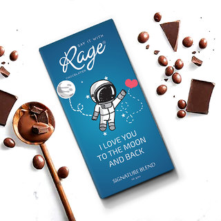 I Love You to the Moon and Back Signature Blend Chocolate Bar