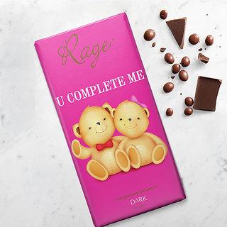 U Complete Me Dark Chocolate Bar