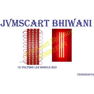 12 volt dc red 3 LED waterproof modules pack of 20 modules
