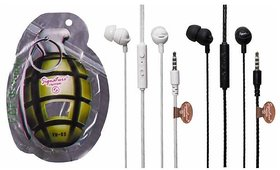 Signature VM-83 Universal Dynamite In Ear Wired Earphone with Mic