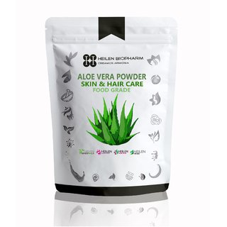 Aloe Vera Powder - Face  Hair Care, 100 Natural Food Grade (200 gm)