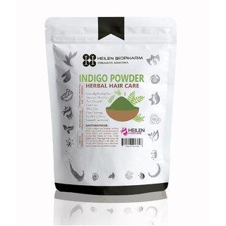 Indigo Leaves Powder for Hair Pack - Hair Growth, Natural Dye  Anti-Dandruff Treatment (400 gm / 14 oz / 0.88 lb)