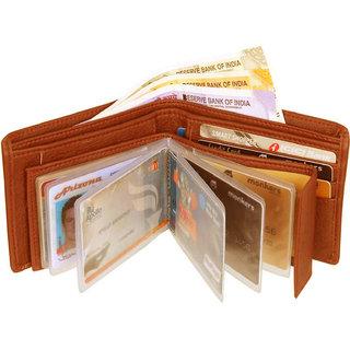 Eaglebuzz Tan Leather Wallet (E17)