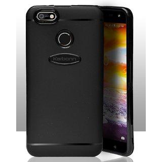ECellStreet Protection Slim Flexible Soft Back Case Cover For Karbonn Titanium Jumbo 2