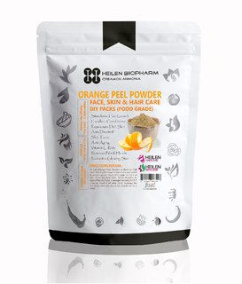 Orange Peel Powder for Face, Skin  Hair Packs - 100 Natural Food Grade (75 gm / 2.65 oz / 0.17 lb)