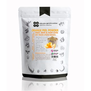 Orange Peel Powder for Face, Skin  Hair Packs - 100 Natural Food Grade (75 gm / 2.65 oz / 0.17 lb)