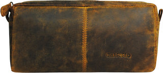 Calfnero Genuine Leather toiletry Bag