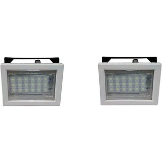 sahu lite Rechargeable 786-18 LED SQR white Emergency Lights (Buy 1 Get 1 Free)