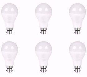 Nipser Premium 9 Watt 900 Lumens Bright  LED Bulb ( Set of 6)