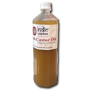 IndicWisdom Cold Pressed Castor Oil 500ml
