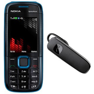 Nokia 5130 / Good Condition/ Certified Pre Owned (1 Year Warranty) with Bluetooth Headset