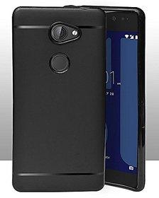 ECellStreet Protection Slim Flexible Soft Back Case Cover For Tenor 10 Or E / 10.Or E / Tenor E - Black