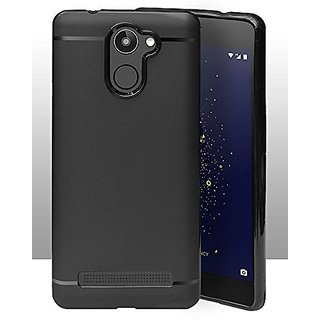 ECellStreet Protection Slim Flexible Soft Back Case Cover For Tenor 10 Or D / 10.Or D / Tenor D - Black