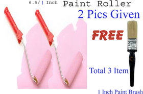 Decor Imported Quality 7 Texture Roller With Handle For Wall Decor -2 Pics