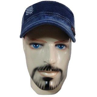 Blue Denim Cotton Golf Cap - Pack Of 1