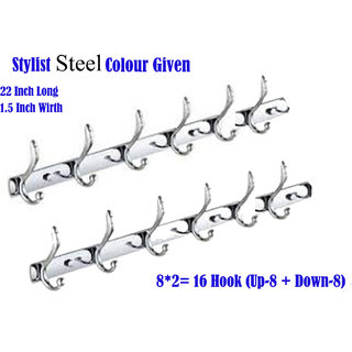 2 Pcs Best Quality Steel Wall Hanger