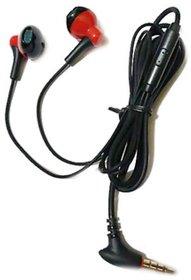 Headphone VM-46 (Blue) Over Dynamic Wire Earphone